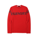 에센시(ESSENSI) [ESSENSI] LOGO PRINT LONG SLEEVE T-SHIRT (ES1GFUT551B)