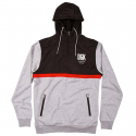 Cross Over Custom Hybrid Hooded Fleece - Black/Ath Heather