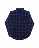 [GHOSTCELL] FLANNEL SHIRT (BLUE)