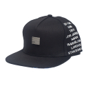 시빌 레짐(CIVIL REGIME) CIVIL REGIME Rebel Snapback (BLACK)