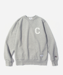 커버낫(COVERNAT) C LOGO CREWNECK GRAY