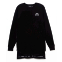 시빌 레짐(CIVIL REGIME) CIVIL REGIME SIDE ZIP TWOFER LS TEE (BLACK)