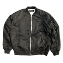 CIVIL REGIME SHERPA MA-1 BOMBER JACKET (BLACK)