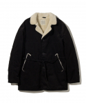 올드조(OLD JOE & CO) OLD JOE & CO. / GATHERING WAIST RANCH JACKET / BLACK