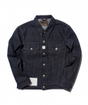 올드조(OLD JOE & CO) OLD JOE & CO. / FRENCH COLLAR JEAN JACKET / INDIGI RAW