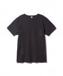 올드조(OLD JOE & CO) OLD JOE & CO. / GRAFFITI MARIN RIB CREW NECK T-SHIRT / INK BLACK