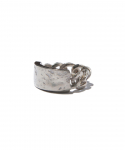 올드조(OLD JOE & CO) OLD JOE & CO. / RAPHAEL ID RING / SILVER(WHITE FINISH)