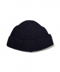 올드조(OLD JOE & CO) OLD JOE & CO. / RAMIE WOOL WATCH CAP / NAVY