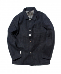 올드조(OLD JOE & CO) OLD JOE & CO. / THREE POCKET CHORE JACKET / INDIGO RAW