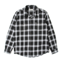 세인트페인(SAINTPAIN) SP LUFKIN CHECK SHIRT LS-BLACK