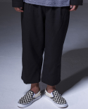 시그니처() Twill Set Pants [Black]