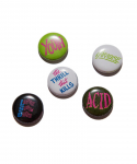 PARADISE YOUTH CLUB / PARADISE BUTTON PIN