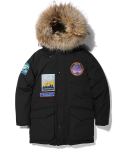 라이풀(LIFUL) DISCOVERY LONG DOWN PARKA expedition black