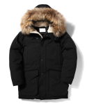 라이풀(LIFUL) DISCOVERY LONG DOWN PARKA black