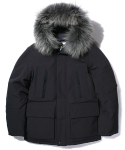 SHELTER DOWN PARKA navy