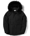 SHELTER DOWN PARKA black