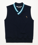 미나브(MINAV) [UNISEX]TOUCAN POINT RIP SLEEVELESS NAVY