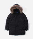 블루야드(BLUE YARD) N-3B PARKA BLACK