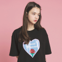 덴스(THENCE) BOXY TEE_HEART