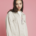 덴스(THENCE) DENIM JACKET_IVORY