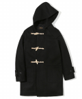 유니폼브릿지(UNIFORM BRIDGE) 16aw wool long duffle coat black