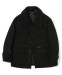 유니폼브릿지() oversized wool cruzer jacket black