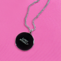 덴스(THENCE) NECKLACE_BLACK_WTG
