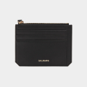 살랑(SALRANG) Dijon M201 Flap mini Card Wallet black