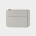 살랑(SALRANG) Dijon M201 Flap mini Card Wallet light grey