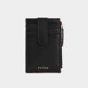 살랑(SALRANG) Dijon 201S Flap mini Card Wallet black