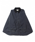 올드조(OLD JOE & CO) OLD JOE & CO. / OILED CLOTH RIDING PONCHO JACKET / BLACK NAVY