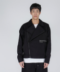 로우 투 로우(RAW TO RAW) monk DB cotton rider(black)