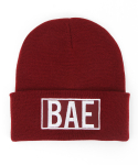 내셔널 퍼블리시티(NATIONAL PUBLICITY) BAE BEANIE_BURGUNDY