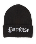 내셔널 퍼블리시티(NATIONAL PUBLICITY) PARADISE BEANIE_BLACK