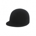 어썸니즈(AWESOME NEEDS) WOOL FELT HORSE RIDING CAP_BLACK