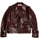 암위(AM.WE) Wine Lambskin Hardy BIKER