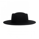 어썸니즈(AWESOME NEEDS) WOOL FELT PORK PIE HAT_BLACK_symbol