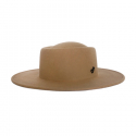 어썸니즈(AWESOME NEEDS) WOOL FELT PORK PIE HAT_BROWN_symbol