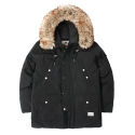 세인트페인(SAINTPAIN) SP EMBRACE DUCKDOWN N3B PARKA-BLACK