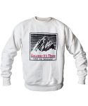 심플(SIMPLE) MOUNTAIN RAGLAN SWEATSHIRTS WHITE