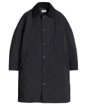 모디파이드() M#1080 modified 6oz quilted coat (black)