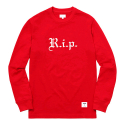 SUPREME R.i.p. L/S Tee (RED)