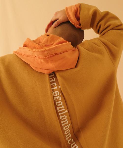 아타르_psln incised wool coat beige