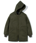 유니폼브릿지(UNIFORM BRIDGE) heavy wool cadet parka khaki