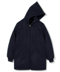유니폼브릿지(UNIFORM BRIDGE) heavy wool cadet parka navy