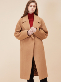 룩캐스트(LOOKAST) BEIGE SNAP COAT