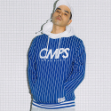 본챔스(BORN CHAMPS) STRIPE HOOD BLUE CEPCMHD03BL