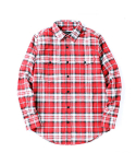 데이오프(DAYOFF) Ombre Check Shirt Red