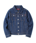 Washing Denim Jacket Blue