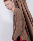 비에이블투(B ABLE TWO) Oversized Knit (BEIGE)